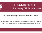 Construction to begin soon at Judson!